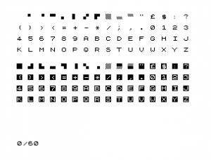 Caracteres del ZX81