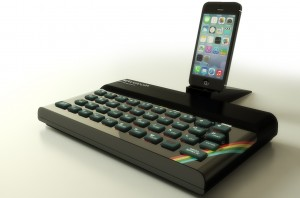ZX Spectrum Bluetooth con un iPhone