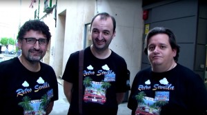 Juanve, Edu y Victor en Retrosevilla 2015